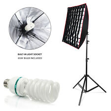 Photography Studio Built-in Light Socket Soft box Reflector with Honeycomb Grid