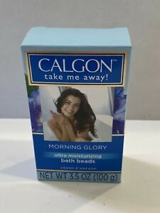 Calgon take me away! Morning Glory Ultra Moisturizing Bath Beads 3.5 oz 100g NEW