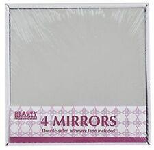 Ardisle 4 Espejo Azulejos de mosaico Auto Adhesivo Pared Adhesivo Decoración Arte Vidrio Cuadrado