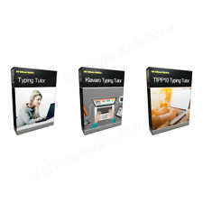 Value Touch Typing Tutor Software - Learn to Type Course Bundle