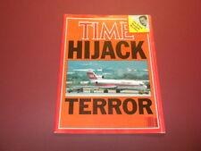 TIME MAGAZINE June 24,1985 HIJACK TERROR MENGELE MYSTERY high grade NO LABEL