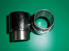 TRIUMPH PRE-UNIT.CHROME PLATED FORK OIL SEAL HOLDERS, WITH SLEEVE AND SEALS