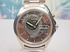 SEIKO AGS SPIRIT KINETIC-AUTOMATICO-CABALLERO DAY/DATE MEN'S WATCH 5M23-7A60,
