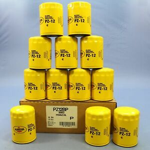 New 12 Pack Pennzoil PZ12 Spin-On Engine Oil Filter Replacement