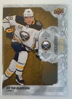 2019-20 UD Engrained Victor Olofsson Rookie #d 206/299 Sabres RC