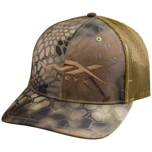 Wiley X Mens Mesh Baseball Cap Army Tactical Patrol Hat Kryptek Highlander Camo