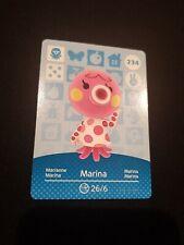 MARINA ANIMAL CROSSING AMIIBO SERIES 3 CARD #234 TRACKED AU POST geniuine