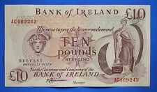 More details for 1984 bank of ireland, ten pound, harrison, £10 banknote,