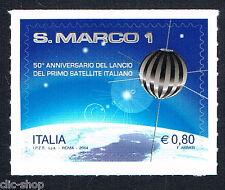 ITALIA 1 FRANCOBOLLO S. MARCO SATELITE ITALIANO 2014 nuovo**