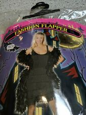 Flapper Dance-Halloween Costume Size Large  Preowned