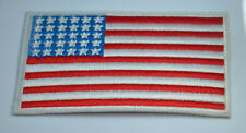 AMERICA USA US STATES FLAG 4' Embroidered Iron Sew On Cloth Patch Badge Applique