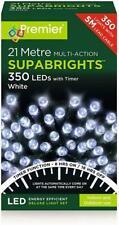 350 White Led Supabright Timer Lights
