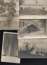 (n7105)   Feldfliegerabteilung 34 , 5 Foto-Ansichtskarten, ua. Unterstandsh