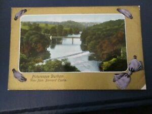 Postcard of Picturesque Durham, View from Barnard Castle (1913 posted)