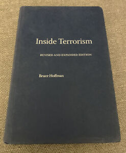 Inside Terrorism by Bruce Hoffman Revised & Expanded Edition Hardback