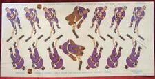 LOS ANGELES KINGS team decals used on Coleco Table Hockey games Vintage 1970s