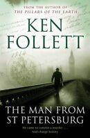 KEN FOLLETT __ THE MAN FROM ST PETERSBURG __ BRAND NEW 'A' FORMAT __ FREEPOST UK