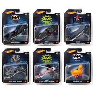 HOT WHEELS 2021 BATMAN 1:50 SCALE VEHICLES J CASE WAVE 1 - Pick and choose!!