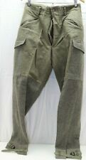 Wwii Swedish Grey Trousers pants w ankle straps 32in W x 32in L M7042
