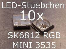 10x SK6812 MINI 3535 RGB LED mit integriertem WS2811 LED-Treiber IC