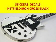 STICKERS IRON CROSS HETFIELD + STRIPES BLACK VISIT OUR STORE WITH MORE MODELS