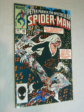 Spectacular Spider-Man #90 VF/NM Black Cat Early Black Costume LOOK