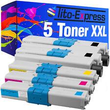 5 Toner XXL ProSerie PER OKI c310 DN c531 DN mc351 DN mc352 DN mc361 DN