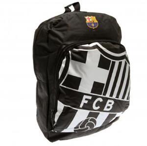 FC Barcelona Backpack Rucksack Gymbag School Bag Black Official Holdall RT