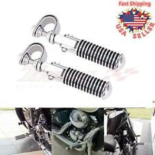 """1"""" 1.25"""" Engine Guard Highway Foot Pegs U-Clamp amPedals For Harley Honda Bobber(Fits: Mastiff)"""