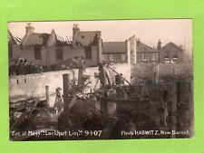 More details for fire saw mills messrs lockhart ltd 1907 rp pc unused harwitz new barnet ref e620
