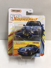 Matchbox 1980 PORSCHE 911 TURBO 50th Anniversary SuperFast New
