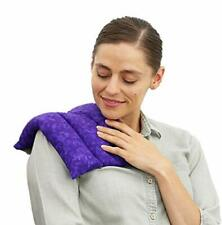 Nature Creation Microwavable Heating Pad for Cramps - Herbal B. Purple Marble