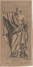 Gravure ancienne, XVIIIe. Rome, Latran. Monnot. Engraving, Incisione, 18th.