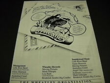 Wheatley Australia 1982 promo ad Angel City Little River Band Lisa Bade Icehouse
