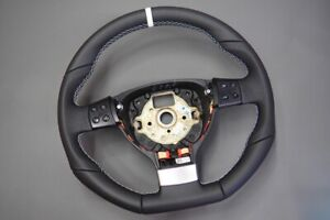 Steering wheel vw golf mk5 gti gtd scirocco rline flat bottom Leather