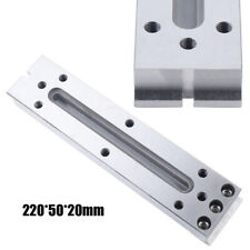 Wire Edm Fixture Board Stainless Jig Holder For Clamping Amp Leveling 220x50x20mm