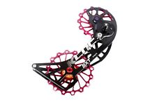 KCNC SXT MTB Bicycle Bike Oversized Pulley OSPW for Shimano M9000/M8000 Red