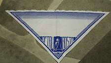 Foulard vintage scarf  bandana Oftal Aosta  100% poliestere