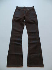 Levi's 529 Bootcut Jeans Hose, W 24 /L 32, (W25), Biker Leder- Look-Denim, RAR !