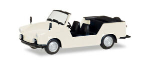 Herpa 024808-003 Trabant Kübel, perlweiß, H0 Modell 1:87