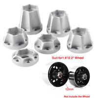 Metall 1,9 2,2 Zoll Rad Wheel Hex Hub für 1/10 Traxxas TRX4 SCX10 D90 RC Auto