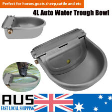 4L Automatic Float Valve Water Trough Bowl Drinking Sheep Cow Horse Auto Fill AU