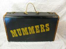 Vintage Mummers Suitcase Philadelphia New Years Parade Celebration Fraternal