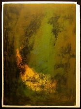 """Le Ba Dang """"Nature Prays Without Words"""" 1 piece from suite, Signed Fine Art OBO"""