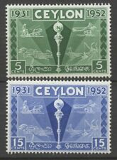 No: 76430 - CEYLON - LOT OF 2 OLD STAMPS - MH!!