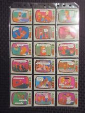 1990 Topps THE SIMPSONS Trading Card LOT of 72 NM 9.4
