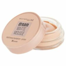 Nouveau Fond De Teint Dream Matte Mousse 05 Porcelain Gemey Maybelline New York