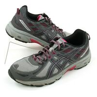 Asics Gel Venture 6 T7G7N (D) Womens Size 10 Trail Running Shoes Gray Pink