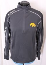 0b054249b02 Iowa University Hawkeyes Columbia Golf Pullover Omni-wick 1/4 Zip Jacket  Mens XL