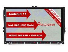 M.I.C. AV9-lite Android 11 Autoradio mit navi Ersatz für VW Golf t5 touran Passa